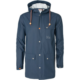 Varg Göteborg Veste imperméable, lead blue